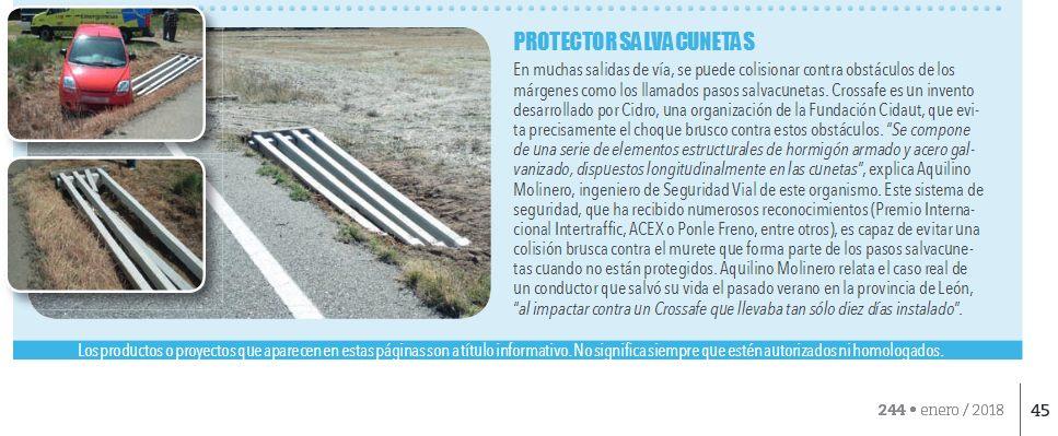 Crossafe revista Tráfico y Seguridad Vial