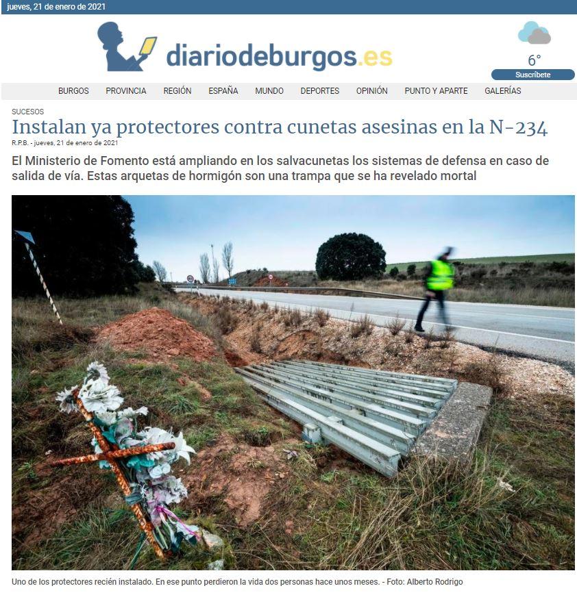 Diario de Burgos Jueves 21 Enero2021